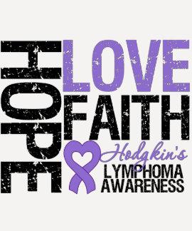 Fe del amor de la esperanza de la linfoma de remera