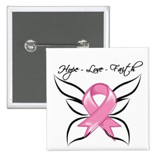Fe del amor de la esperanza del cáncer de pecho pin