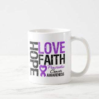 Fe del amor de la esperanza del cáncer pancreático taza