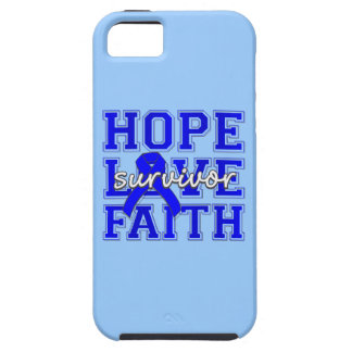 Fe del amor de la esperanza del cáncer rectal iPhone 5 Case-Mate fundas