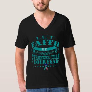 Fe del cáncer de tiroides más fuerte que miedo playera