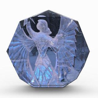 Fe del cristianismo del ángel de la escultura del