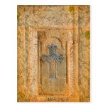 Fe del cristiano de la cruz del renacimiento de postal