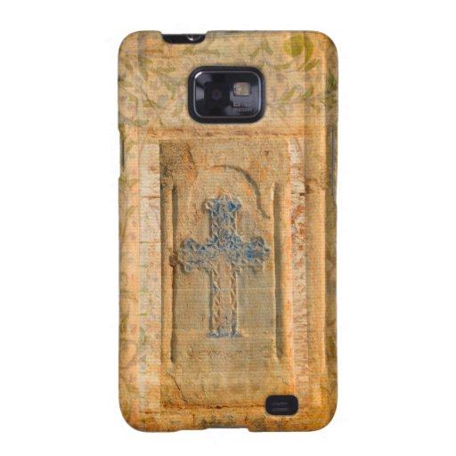 Fe del cristiano de la cruz del renacimiento de Ve Samsung Galaxy S2 Fundas