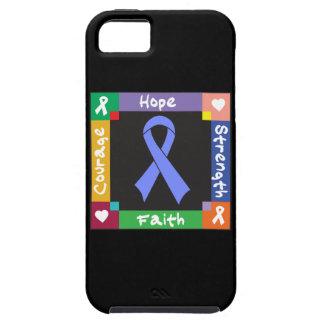 Fe del esófago de la fuerza de la esperanza del iPhone 5 funda