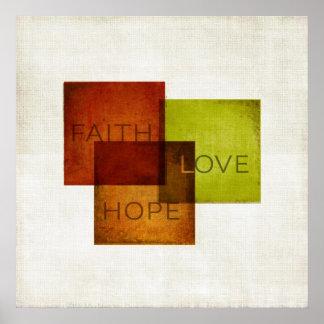 Fe, esperanza, amor I Póster