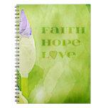 Fe, esperanza, iris del amor libros de apuntes