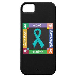 Fe peritoneal de la fuerza de la esperanza del iPhone 5 carcasa