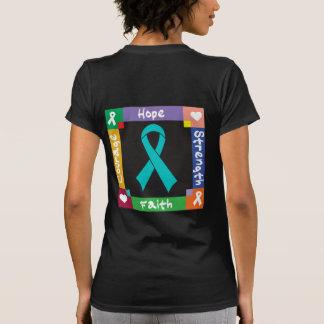 Fe peritoneal de la fuerza de la esperanza del camiseta
