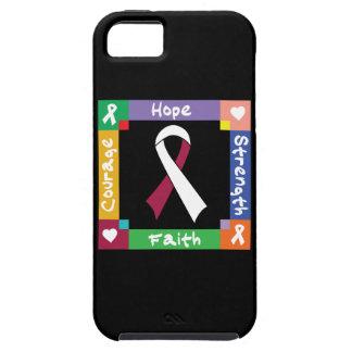 Fe principal de la fuerza de la esperanza del funda para iPhone 5 tough