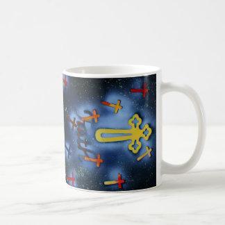 fe spacepainting cruzada amarilla tazas