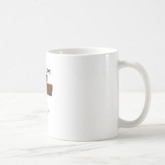 Fe y amor taza básica blanca