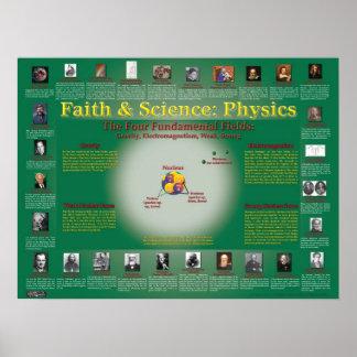Fe y ciencia: La física nuclear Póster