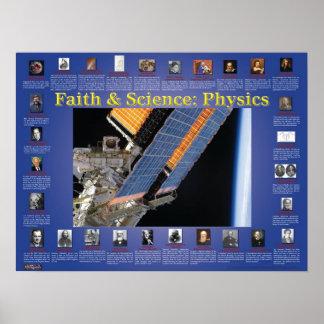 Fe y ciencia: La física Póster