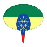 Fe y esperanza de Etiopía Figura De Tarta