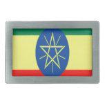 Fe y esperanza de Etiopía Hebillas Cinturon Rectangulares
