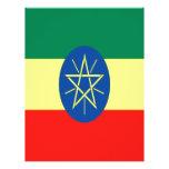 Fe y esperanza de Etiopía Membretes Personalizados