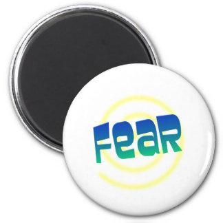 fear 2 inch round magnet