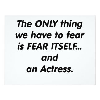 fear actress card
