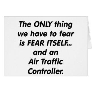 fear air traffic controller card
