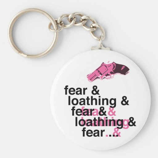Fear and Loathing Keychains