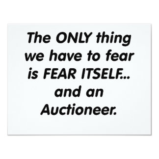 fear auctioneer card