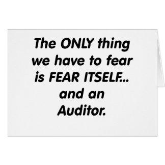 fear auditor card