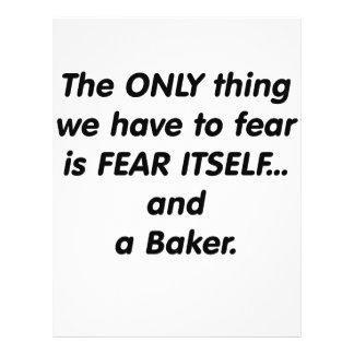 Fear baker flyer