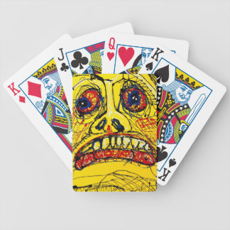 Fear Bicycle Playing Cards