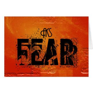Fear by AKS Card