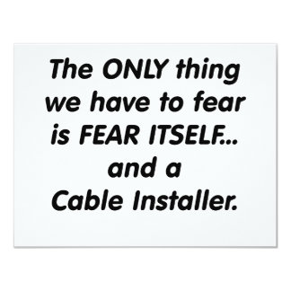 fear cable installer card
