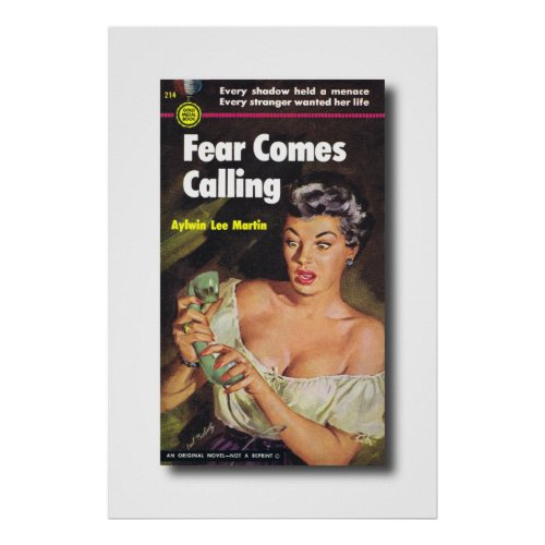 Fear Came Calling Book Cover Poster