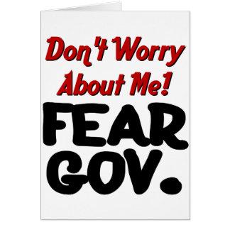 fear greeting card