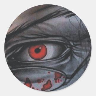 Fear Classic Round Sticker