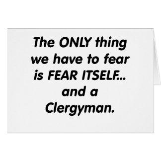 fear clergyman card