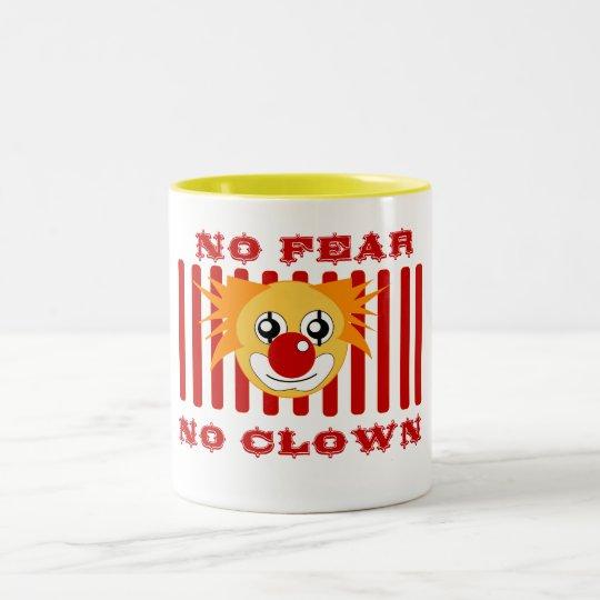 FEAR CLOWN Two-Tone COFFEE MUG