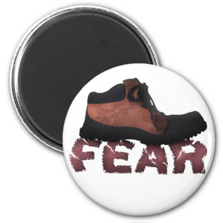 FEAR Crushed by Boot - Multiple Products Fridge Magnet