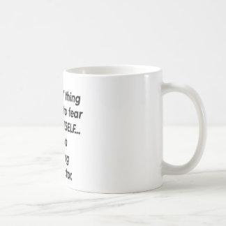 fear driving instructor coffee mug