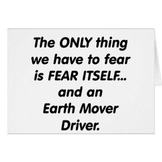 fear earth mover driver card