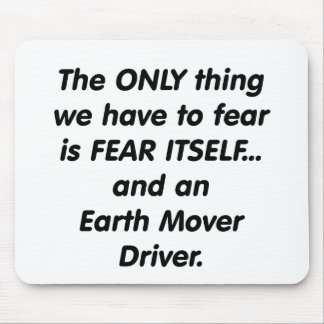 fear earth mover driver mouse pad