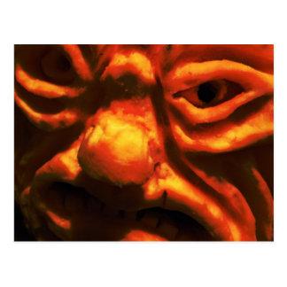 Fear Face IX Postcard