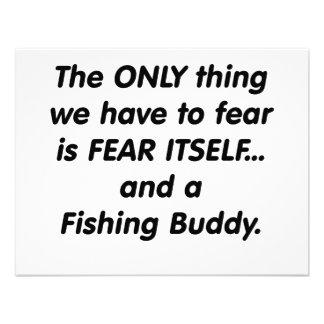 fear fishing buddy custom invitations