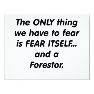 fear forestor card