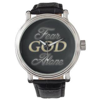 Fear God Alone Wristwatch