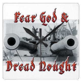 Fear God & Dread Nought Clock