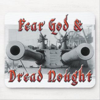 Fear God & Dread Nought Mousepad.
