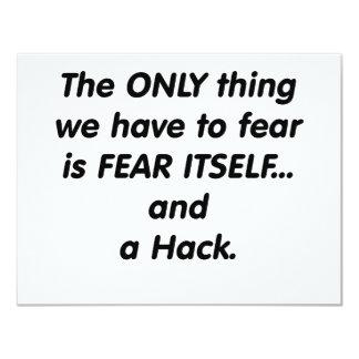 fear hack card