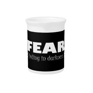 Fear - hiding in darkness pitchers