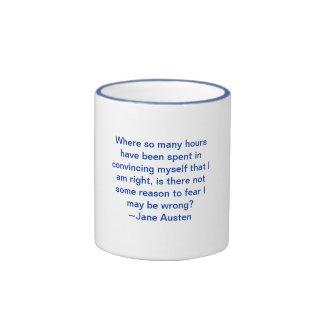 Fear I Might Be Wrong Ringer Mug