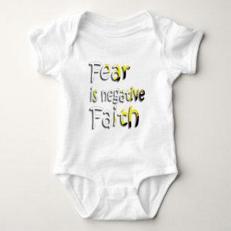 Fear Is Negative Faith 2 Tee Shirt